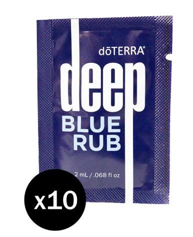 doTERRA Deep Blue Proben 10-er Pack